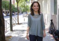 La secretaria general del PSOE de Madrid, Sara Hernández.