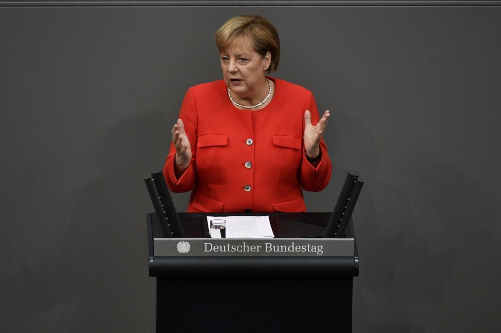 Angela Merkel reunirá este fin de semana a los ministros de Exteriores de la UE para hablar de Corea del Norte