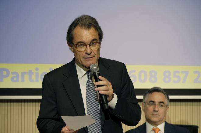 El ex presidente catalán Artur Mas.