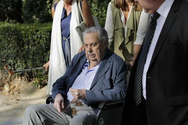 Pablo González, a su salida de la Audiencia Nacional.