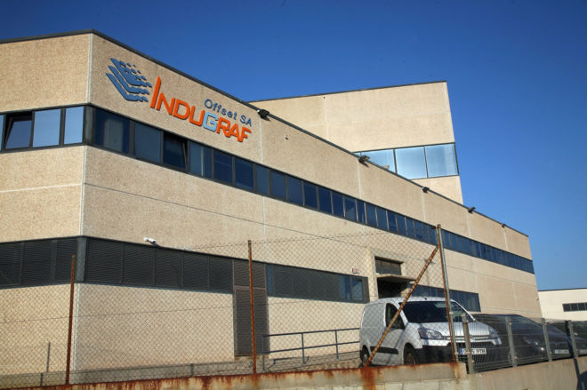 Fábrica bajo vigilancia en Constantí, Tarragona