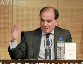 Tomás Villanueva, en un acto en 2013 en su etapa como consejero de...