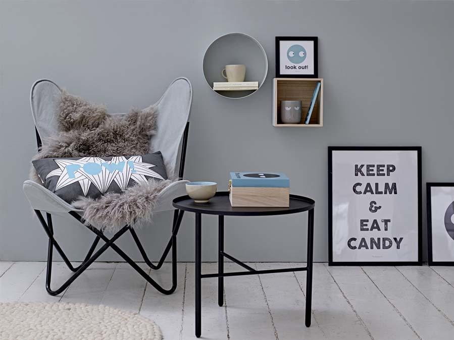 El gris es un color muy presente en la decoración de estilo...