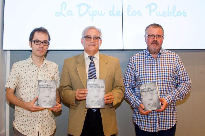 López-Pampló, Asencio y Lozano en la presentación.