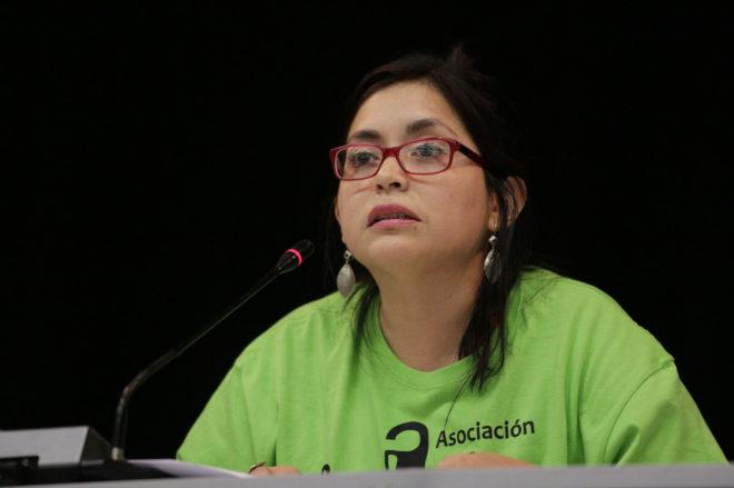 La concejal presidente del distrito de Arganzuela (Madrid), Rommy Arce.