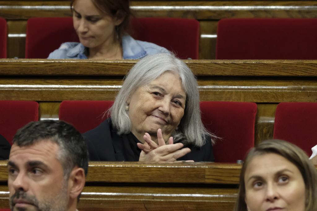 La diputada de Catalunya Sí que es Pot, Àngels Martínez.