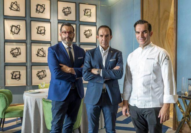 """Cosa de tres. Juan Diego, Rafael y Mario Sandoval, en el nuevo """"Coque..."""