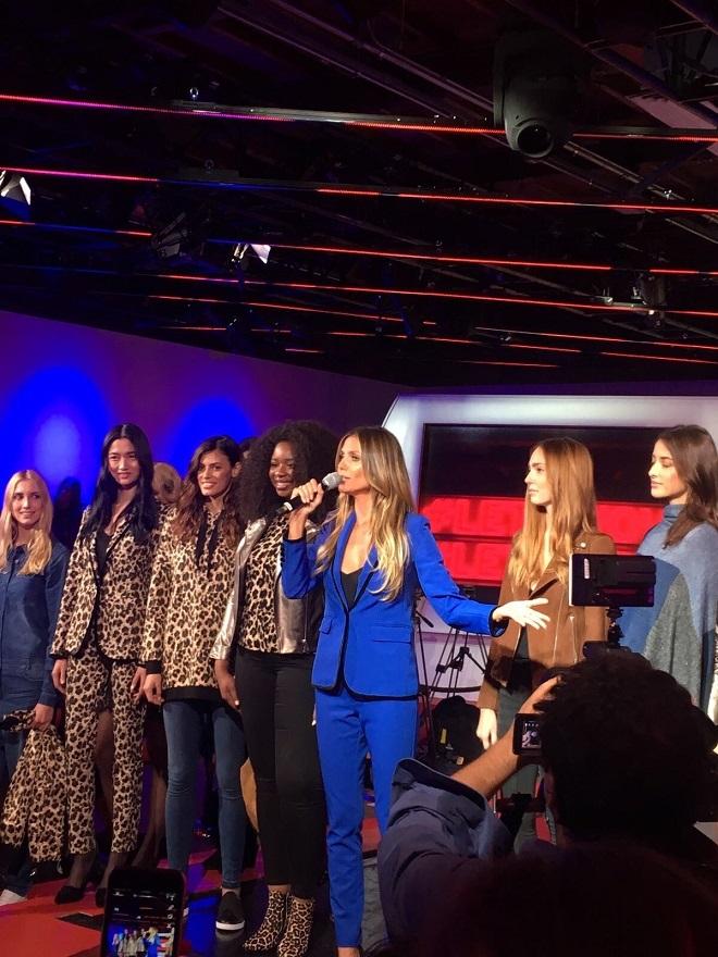 24de7fe448ca Heidi Klum y Lidl juntos en la Semana de la Moda de Nueva York ...