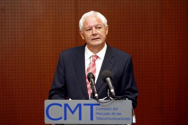El ex presidente de la Comisión del Mercado de las Telecomunicaciones.