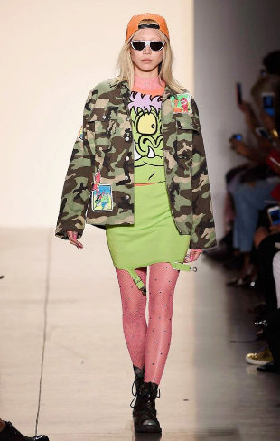 Jeremy Scott- Primavera/verano 2018 - New York Fashion Week