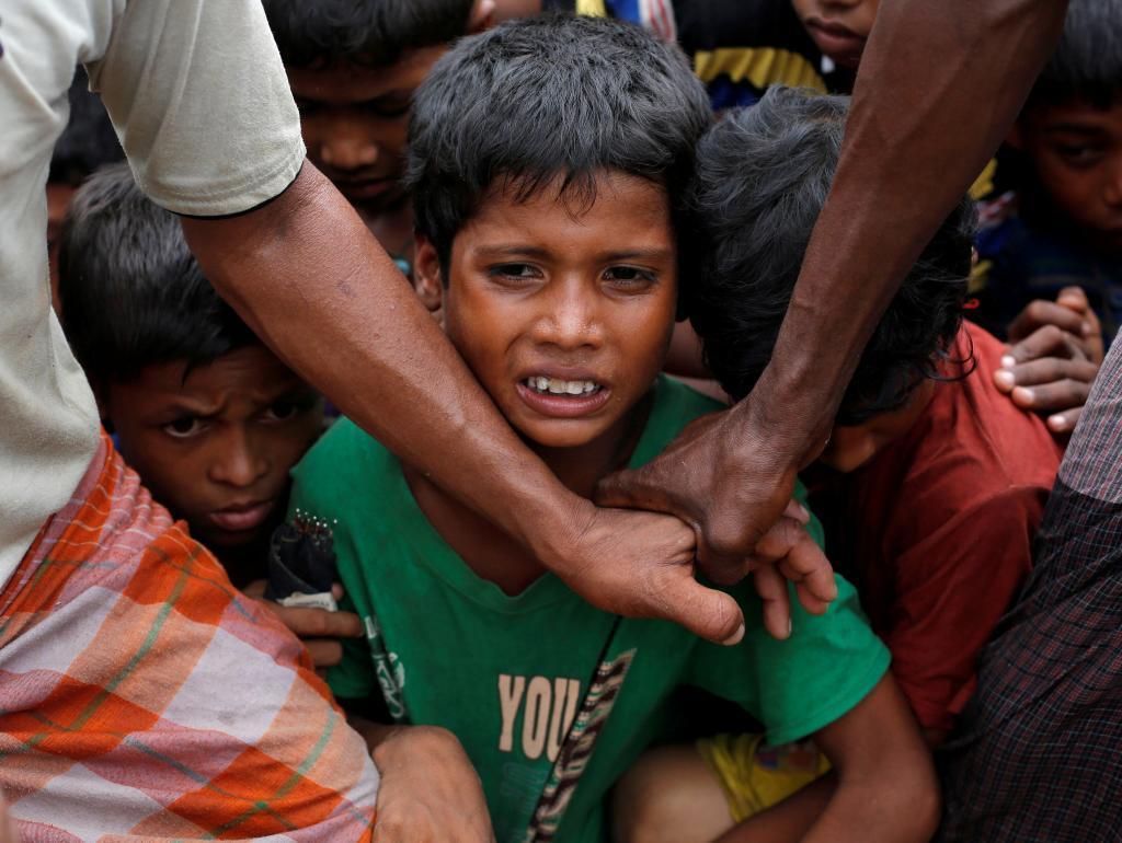 Hasta 176 aldeas rohingya han sido vaciadas de residentes (según ha...
