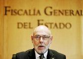 El fiscal general, José Manuel Maza, en una comparecencia el pasado 7...