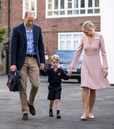El príncipe George (4) fue el primero de los pequeños 'royals' en...