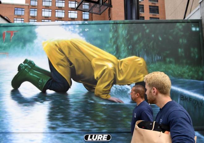 39 it 39 logra el mejor estreno de una pel cula de terror en for El mural pelicula online