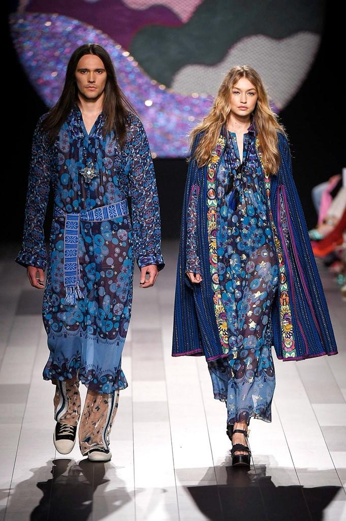 Anna Sui - Primavera-verano 2018 - New York Fashion Week