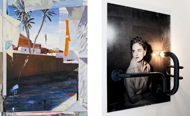 Alfonso Albacete, en el espacio Marlborought y Alexej Menschtschanov,...