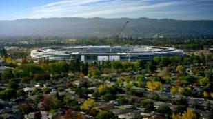 Apple Park, la nueva sede de Apple tiene forma de platillo volante