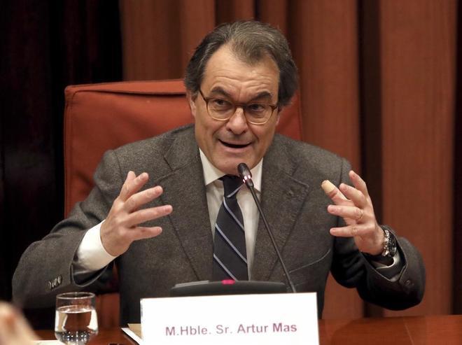 El ex president de la Generalitat, Artur Mas.