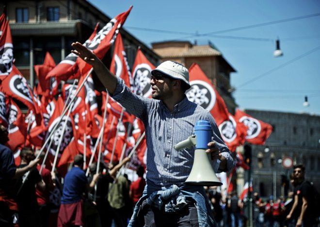 Resultado de imagen para italia auge de la derecha fascista