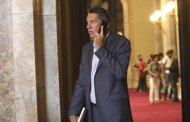 Xavier Garcia Albiol en el Parlament