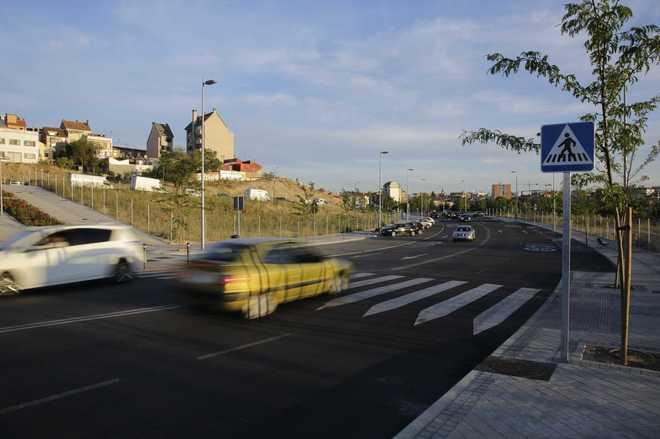 El Paseo de la Dirección, en el distrito madrileño de Tetuán
