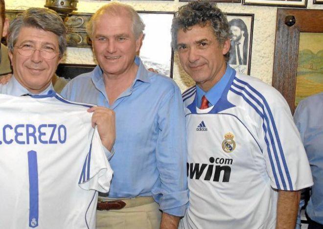 De izquierda a derecha: Enrique Cerezo, Ramón Calderón y Ángel María Villar.
