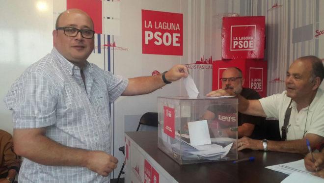 El concejal de La Laguna, Zebenzuí González, en una foto publicado...