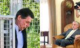 A la izquierda, Ignacio González; a la derecha, el ex delegado del...