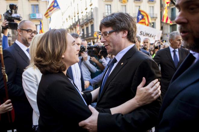 No se entiende el apoyo del PSC a Colau en Barcelona