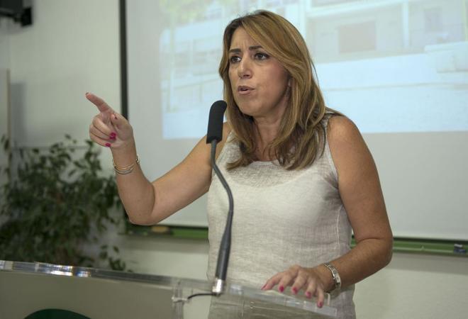 La presidenta de la Junta de Andaluc