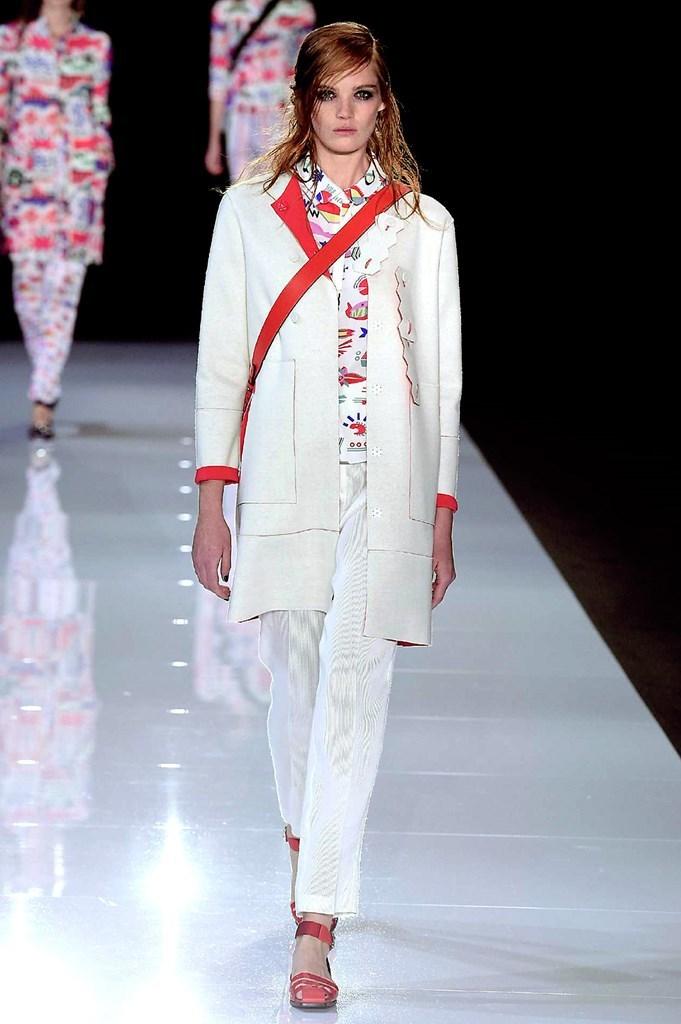 25ea7244f241a London Fashion Week  Emporio Armani