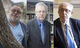 Fernando Savater, Juan Pablo Fusi y Juan José Solozábal, tres de los...