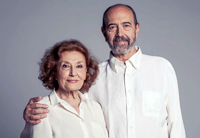 Miguel Rellán y Julia Gutiérrez Caba.