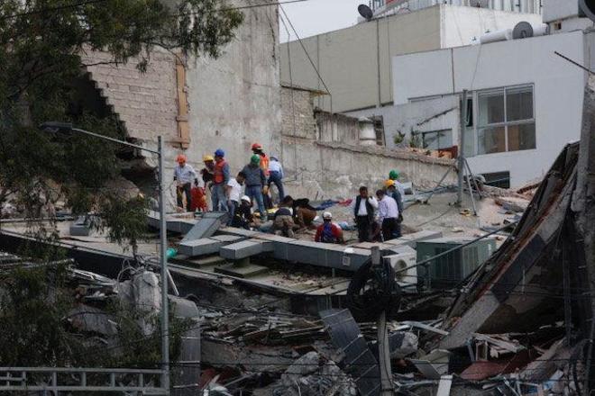 El terremoto en México, minuto a minuto