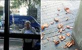 ATAQUE A LA SEDE DEL PSC. La sede del PSC fue ayer objeto de un...