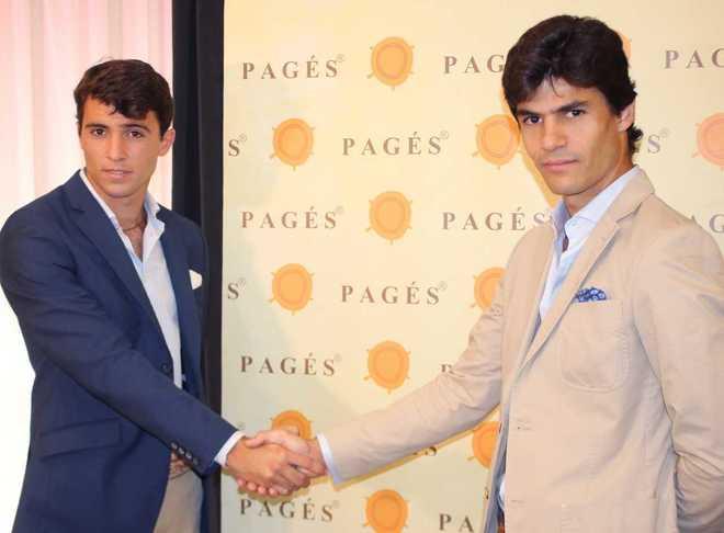 Rafael Serna (izquierda) junto a Pablo Aguado (derecha)