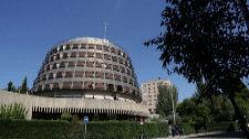 Vista del edificio del Tribunal Constitucional.