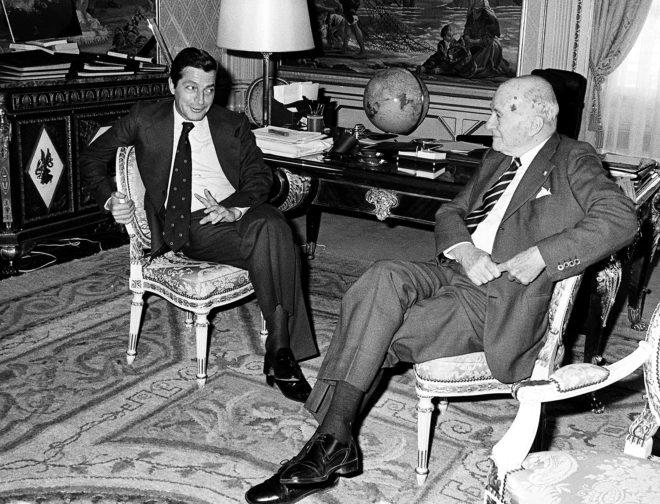 ENCUENTRO DECISIVO: El 27 de junio de 1977, Suárez y Tarradellas...