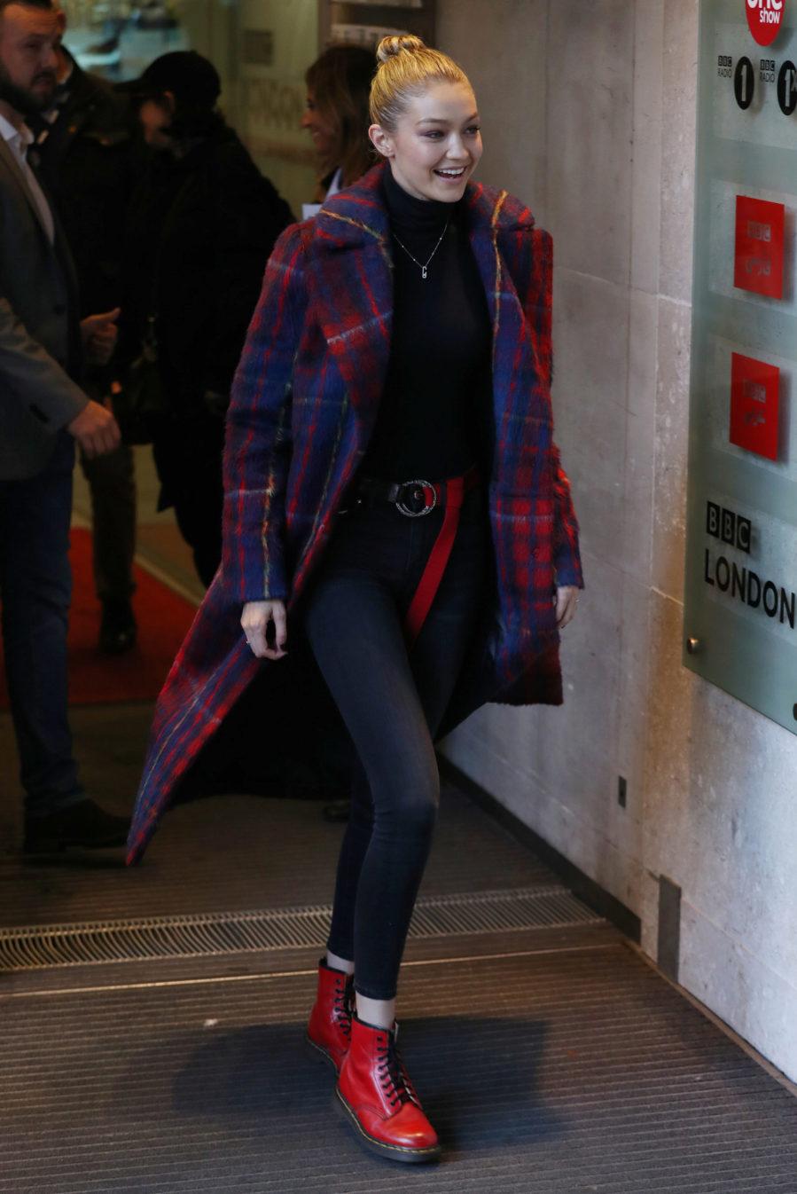 Inspirada por la semana de la moda de Nueva York, Gigi Hadid fue...