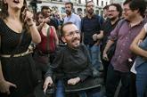 El secretario de Organización de Podemos, Pablo Echenique, en la...