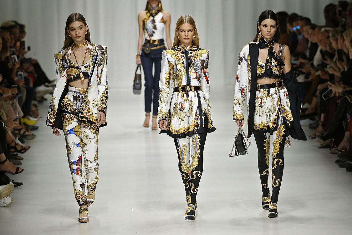 Versace Primavera Verano 2018 Milan Fashion Week