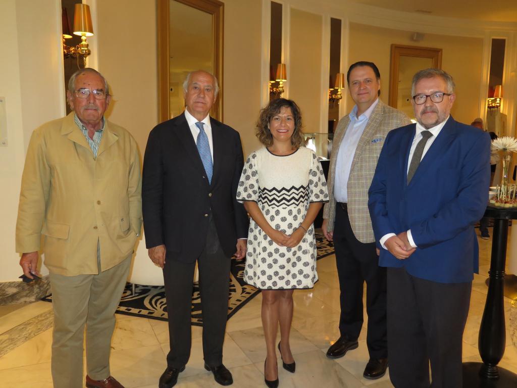 Eduardo Miura, Ramón Valencia (Empresa Pagés), Rosana González...