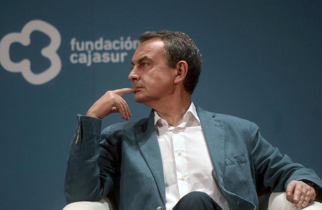 José Luis Rodríguez Zapatero, durante el acto celebrado en Córdoba.