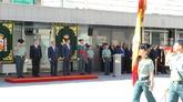 Juan Ignacio Zoido, en el homenaje celebrado esta mañana.