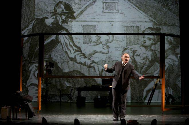 Monologo 'quijotesco'. Arturo Querejeta protagoniza esta pieza con...