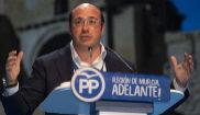 Pedro Antonio Sánchez, el psasdo marzo, durante el congreso del PP en...