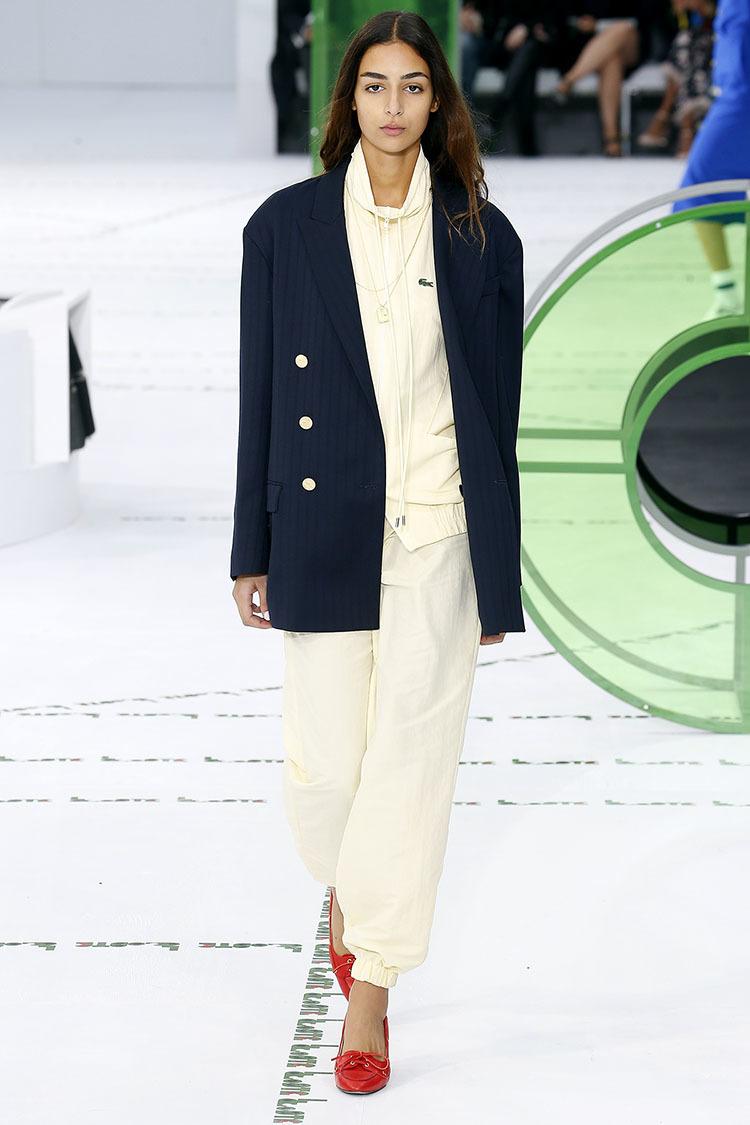Lacoste- Primavera-verano 2018 - Paris Fashion Week