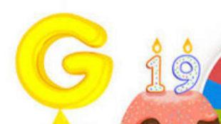 Google celebra sus 19 años con la mejor fortuna
