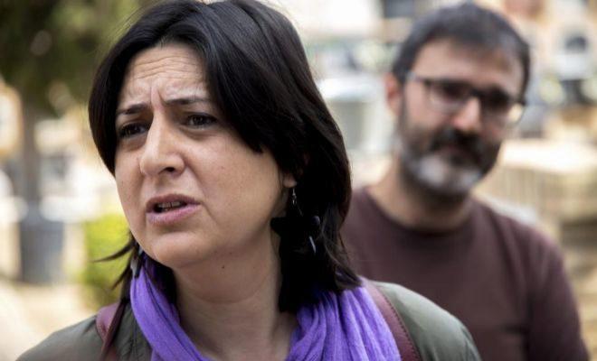 La denunciante del 'caso Taula' y diputada de EUPV, Rosa Pérez.
