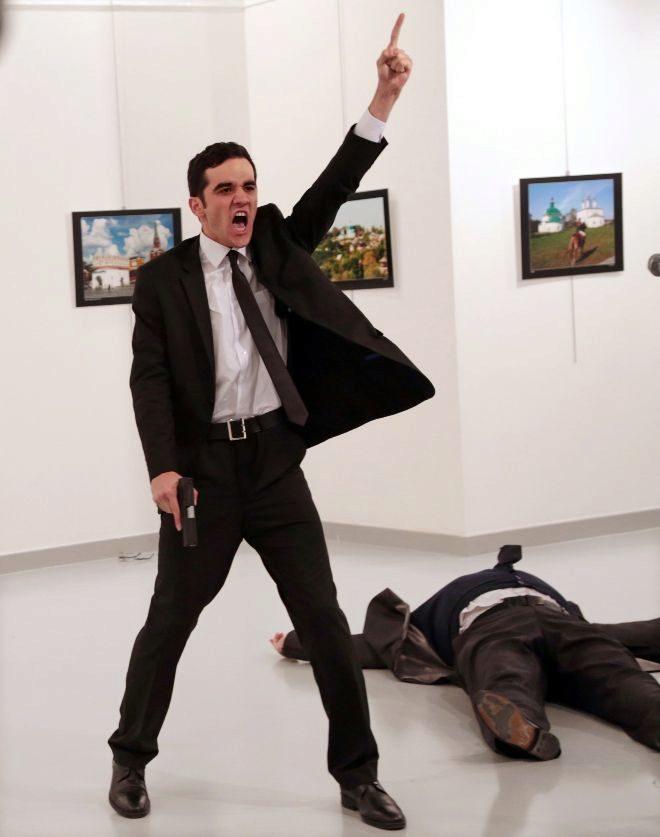 'Un asesinato en Turquía', fotografía ganadora del certamen.